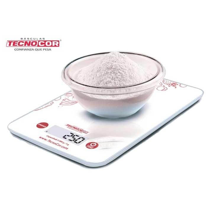 Báscula Electrónica Para Cocina TECNOCOR