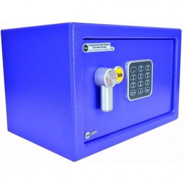 Caja fuerte Electrónica Azul Mediana YALE