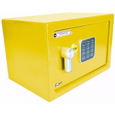 Caja fuerte Electrónica Amarilla Pequeña YALE