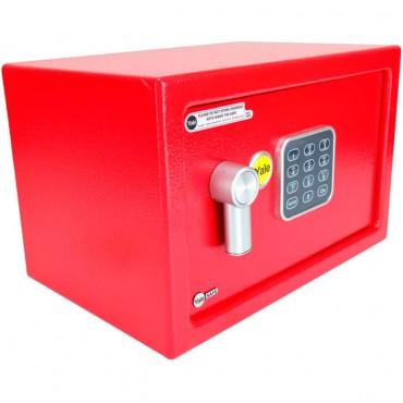 Caja fuerte Electrónica Roja Pequeña YALE