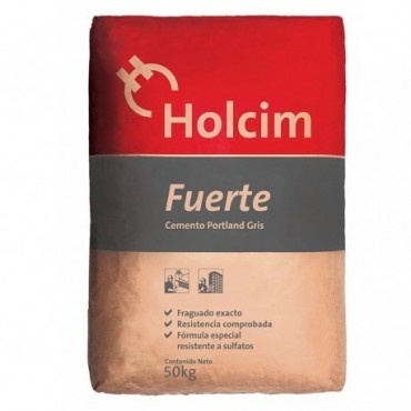 Cemento Gris Fuerte, bolsa...