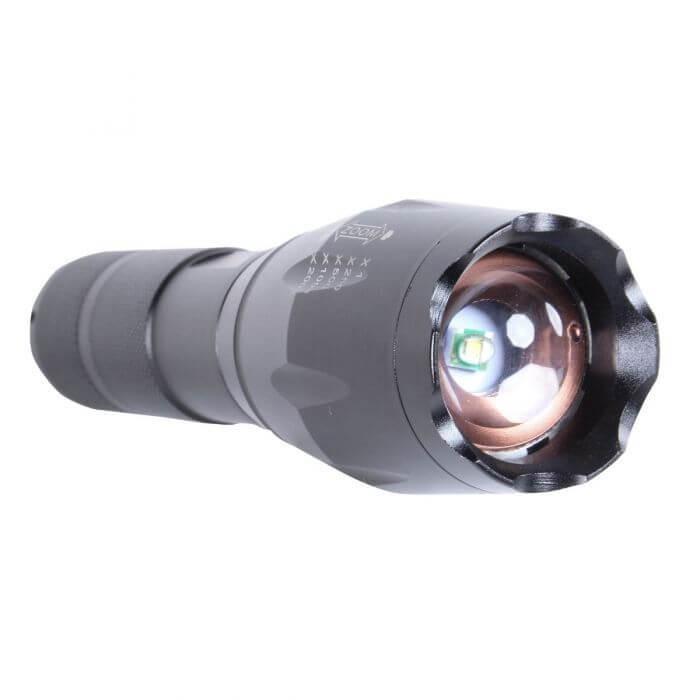 Lámpara De Aluminio A Baterías MIKELS