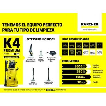 Hidrolavadora K4 Premium KARCHER 5