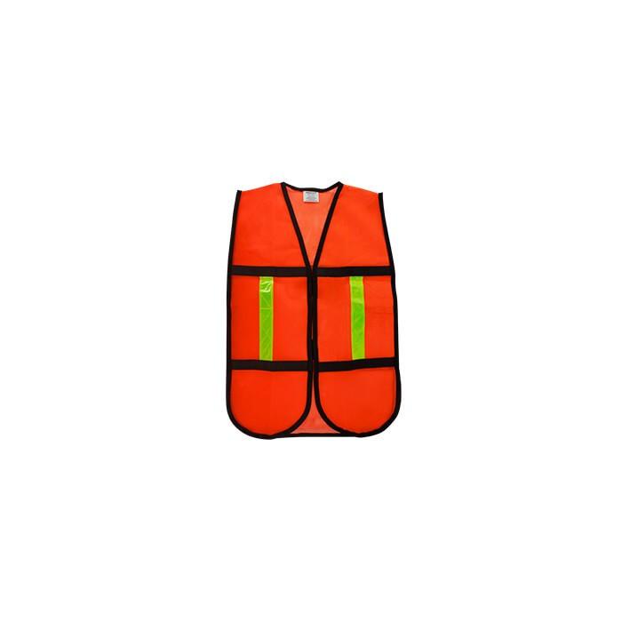 Chaleco Malla Naranja De Seguridad D2 DOGOTULS