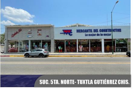 5ª Norte, Tuxtla Gutiérrez, Chiapas.