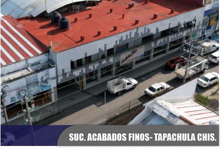 Acabados Finos, Tapachula, Chiapas.