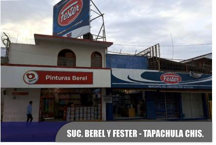 Pinturas Berel, Tapachula, Chiapas.